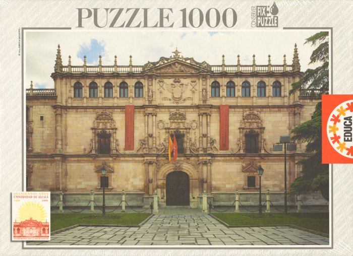 University of Alcala de Henares in Spain 1000 piece jigsaw puzzle manufactured by Educa university-alcala-henares-spain