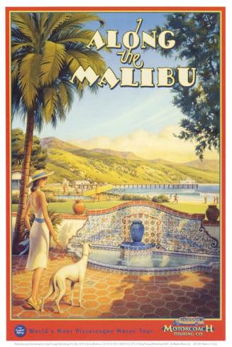 Kerne Erickson Artist Along the Malibu educa puzzle # 12754 worlds smallest puzzle along-the-malibu-kerne-erickson