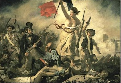 Liberty Leading the People painted by Eugene Delacroix Educa made in Spain 1000 piece jigsaw puzzle liberty-leading-the-people