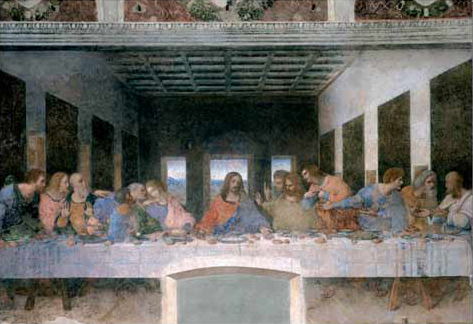 The Last Supper painted by Leonardo DaVinci Educa made in Spain 1000 piece jigsaw puzzle the-last-supper-educa-1000