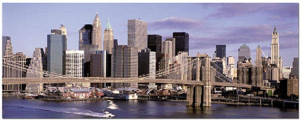 New York Skyline Panorama Educa puzzel made in Spain 1000 piece jigsaw puzzle # 13437 new-york-skyline-panorama-educa