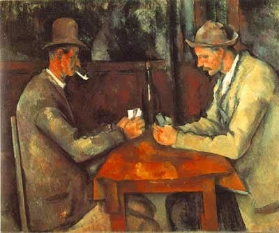 The Card Players painted by Paul Cezanne Educa made in Spain 1000 piece jigsaw puzzle card-players-cezanne-1500