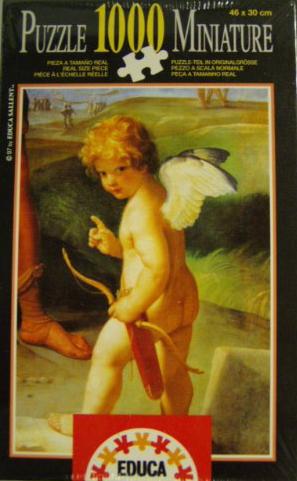 GuidoReni Artist ItalianPainter High Baroque Style educa puzzle # 7139 puzzel il-ratto-di-elena