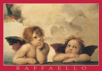 raffael raffaello painter artist cherubs detail madonna sistina puzzle ravensburger raffaello-cherubs