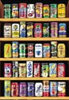 pop cans from around the world, kola, soya bean drink, johannes weben, educa jigsaw puzzle