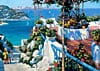 educa jigsaw puzzle of balcony in ponza, 5000 pieces