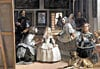 las meninas by diego velazquez, painting, ladies in waiting, educa jigsaw puzzle Puzzle