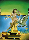 ledaatomica,salvador dali painting, leda atomica, educa jigsaw puzzle 1000 pieces