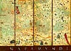 map of the world 1375, mapamundi jigsaw puzzle by educa crsques abraham Puzzle