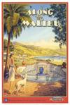 Kerne Erickson Artist Along the Malibu educa puzzle # 12754 worlds smallest puzzle