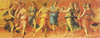 Dance of Apollo with the Muses painted by Giulio Romano Educa made in Spain 1000 piece jigsaw puzzle