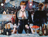A Bar at the Folies painted by Bergeres, Manet Educa made in Spain 1000 piece jigsaw puzzle Puzzle