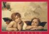 raffaello-cherubs,raffael raffaello painter artist cherubs detail madonna sistina puzzle ravensburger