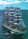 Kaiwo Maru Tall Ship Japan educa puzzle # 7575 worlds smallest puzzle series