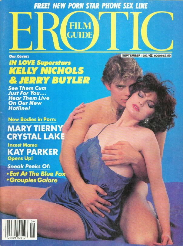 Erotic Film Guide September 1983 magazine back issue Erotic Film Guide magizine back copy
