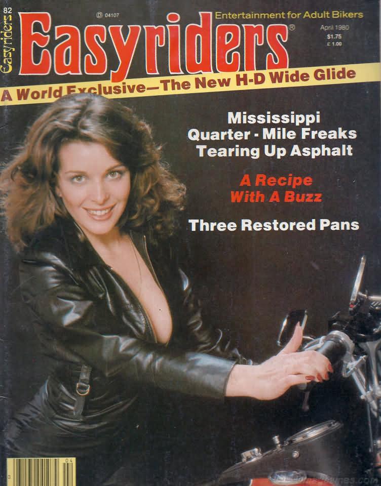 Kg 99 Magazines: Easyriders April 1980 Product Easyriders Apr 1980