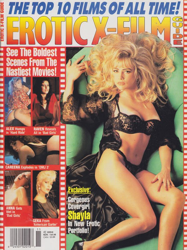 Erotic X-Film Guide November 1993 magazine back issue Erotic X-Film Guide magizine back copy erotic x films guife back issues hot and sexy pornstars all nude horny girl on girl lesbian shots re