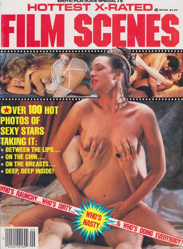Erotic X-Film Guide Special # 9 - Hottest X-Rated Film Scenes magazine back issue Erotic X-Film Guide Special magizine back copy erotix xfilm guide special hottest x-rated scenes over 100 ht pix of sexy stars explicit dp pics ero