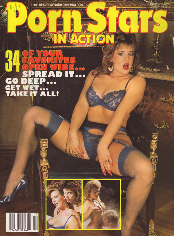 Erotic X-Film Guide Special # 13 - Porn Stars in Action magazine back issue Erotic X-Film Guide Special magizine back copy erotic xfilm guide special porn stars in action hot horny pictorials many nudes explicit sex shots g