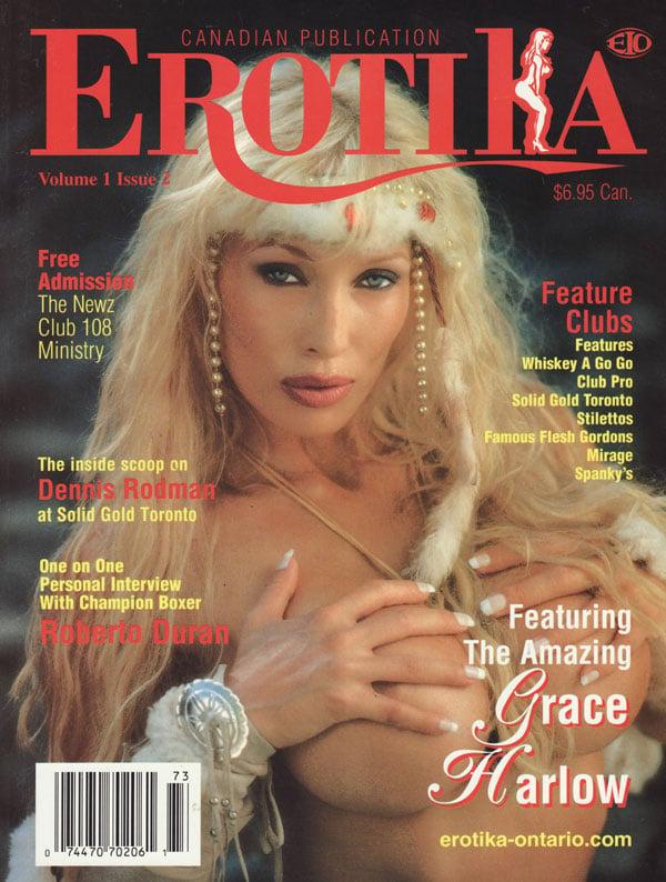 Erotika Vol. 1 # 2 magazine back issue Erotika magizine back copy erotika magazine back issues xxx canadian publications used mags xxx explicit sexy pix amazons tits