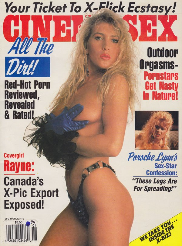 Erotic X-Film Guide Highlights January 1994 - Cinema Sex magazine back issue Erotic X-Film Guide Highlights magizine back copy erotic x-film guide highlights magazine back issues 1994 cinema sex x-flick fantasy pics hot porn re