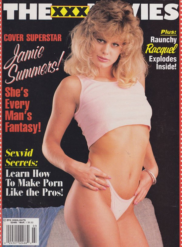 Erotic X-Film Guide Highlights March 1994 - The XXX Movies magazine back issue Erotic X-Film Guide Highlights magizine back copy efg highlights the xxx movies 1994 issues jamie summers covergirl sexvid secrets raunchy racquel hot