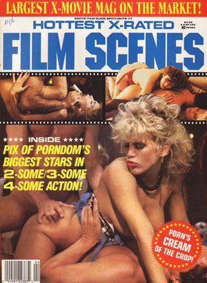 Erotic X-Film Guide Spotlights # 4 - Hottest X-Rated Film Scenes magazine back issue Erotic X-Film Guide Spotlights magizine back copy erotic x film guide spotlights magazine 80s back issues hottest xrated film scenes explicit orgies x