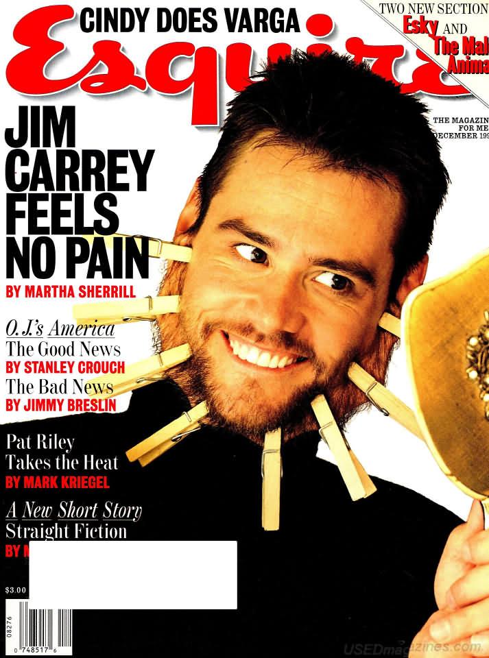Esquire December 1995 Magazine Back Issue Esquire WonderClub