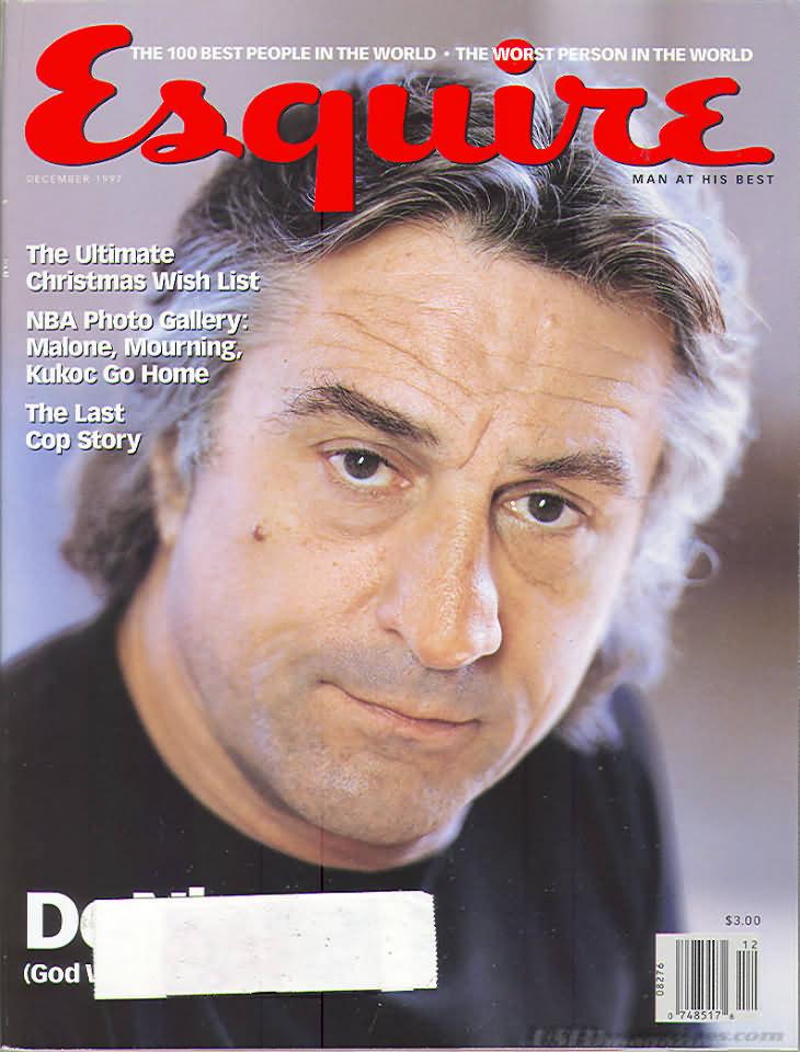 Esquire December 1997 Magazine Back Issue Esquire WonderClub