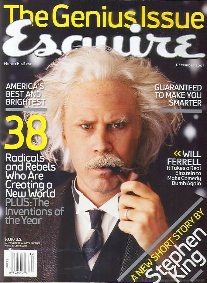 The December Cover of Esquire