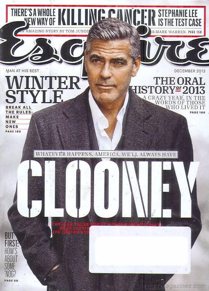 Esquire December 2013 Magazine Back Issue Esquire WonderClub