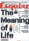 Esquire January 2015 magazine back issue