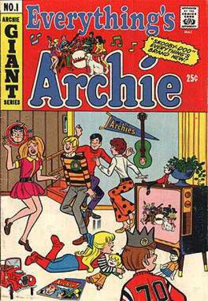 Everything's Archie Comic Book Back Issues by A1 Comix