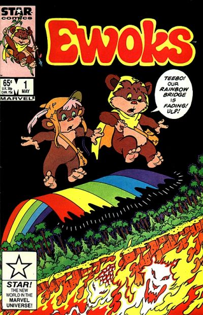 Ewoks Comic Book Back Issues of Superheroes by A1Comix