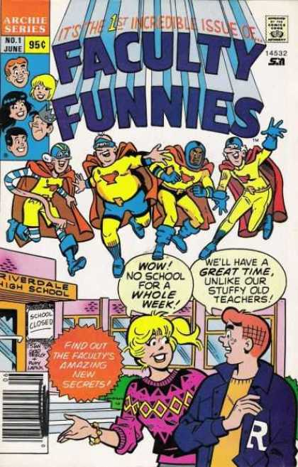Faculty Funnies Comic Book Back Issues by A1 Comix
