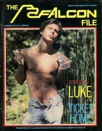 Falcon File # 6 magazine back issue