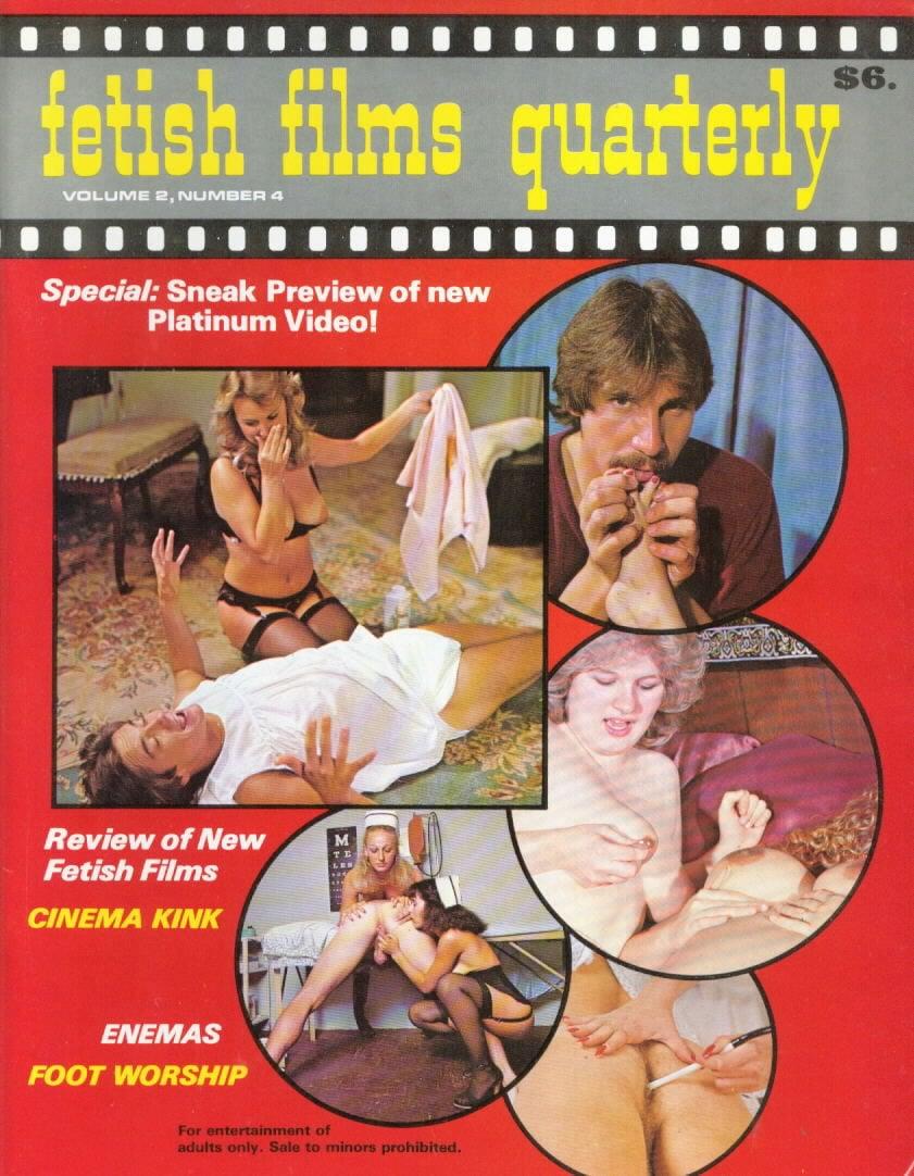 Fetish Films Quarterly Vol. 2 # 4 magazine back issue Fetish Films Quarterly magizine back copy