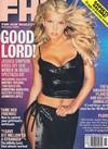 Jessica Simpson magazine cover Appearances FHM # 6, November 2000
