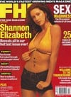 back issues of fhm magazine 2001 shannon elizabeth covergirl almost nude celebs sexy pics sex advice Magazine Back Copies Magizines Mags