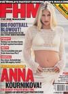 Anna Kournikova magazine cover Appearances FHM # 14 - September 2001