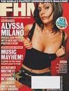 Alyssa Milano magazine cover Appearances FHM # 27 Nov 2002
