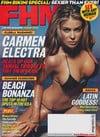 Carmen Electra magazine cover Appearances FHM # 35 Aug 2003