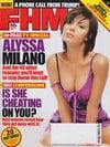Alyssa Milano magazine cover Appearances FHM # 49 - October 2004