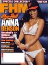 Anna Benson magazine cover Appearances FHM # 66 - April 2006