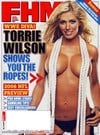 Torrie Wilson (WWE Diva) magazine cover Appearances FHM # 71 - September 2006