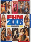 FHM Calendar 2005 magazine back issue