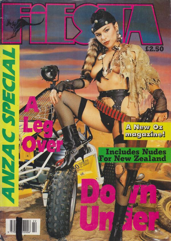 Fiesta Anzac Special # 1 magazine back issue Fiesta Anzac Special magizine back copy
