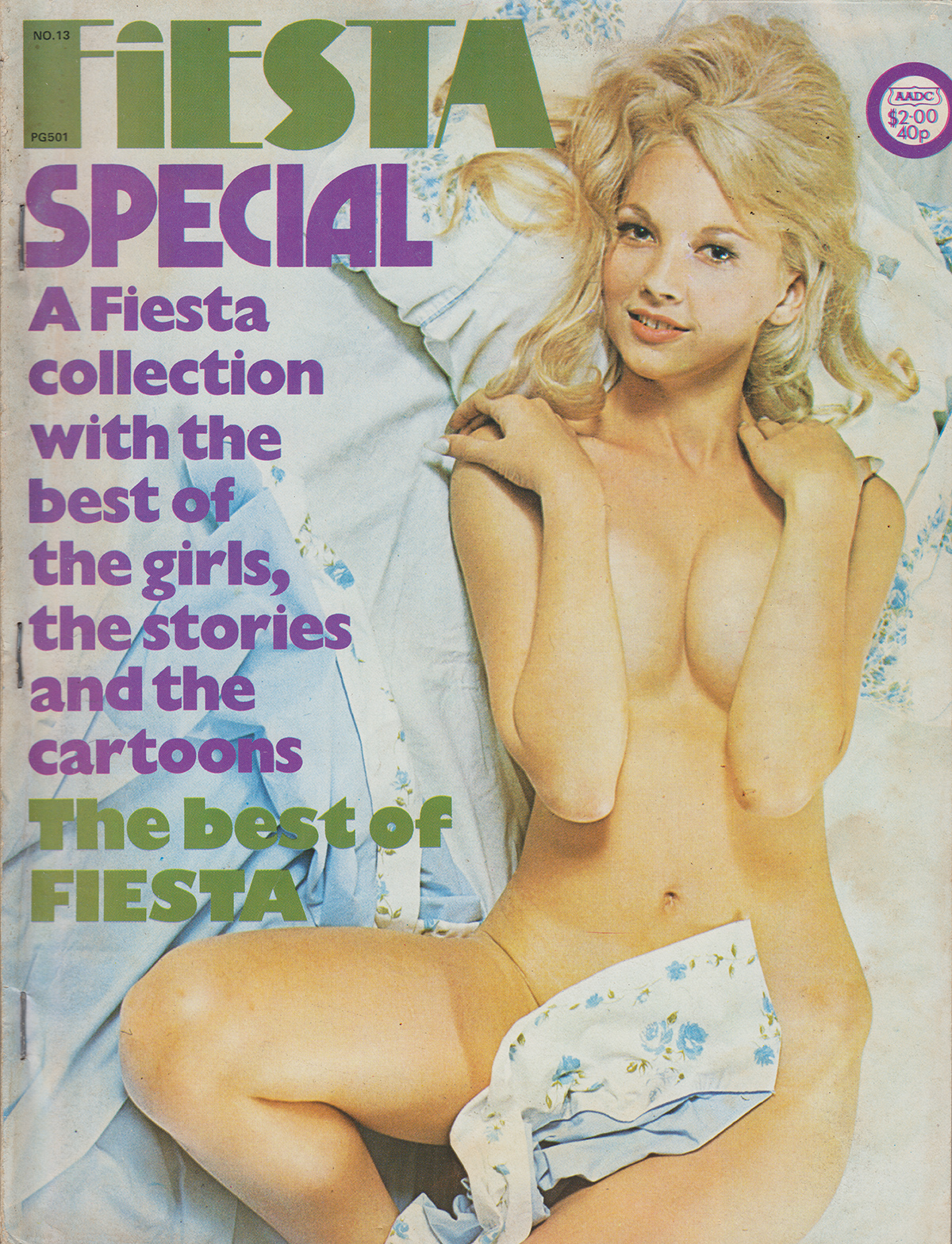 Fiesta Special # 13 magazine back issue Fiesta Special magizine back copy