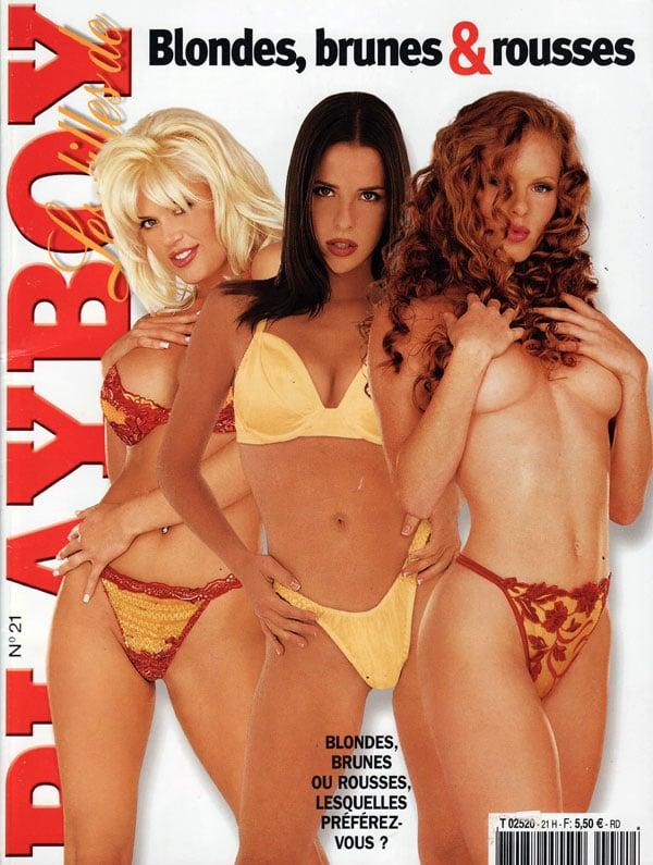 Les Filles de Playboy # 21 - Blondes, brunes & rousses thumbnail