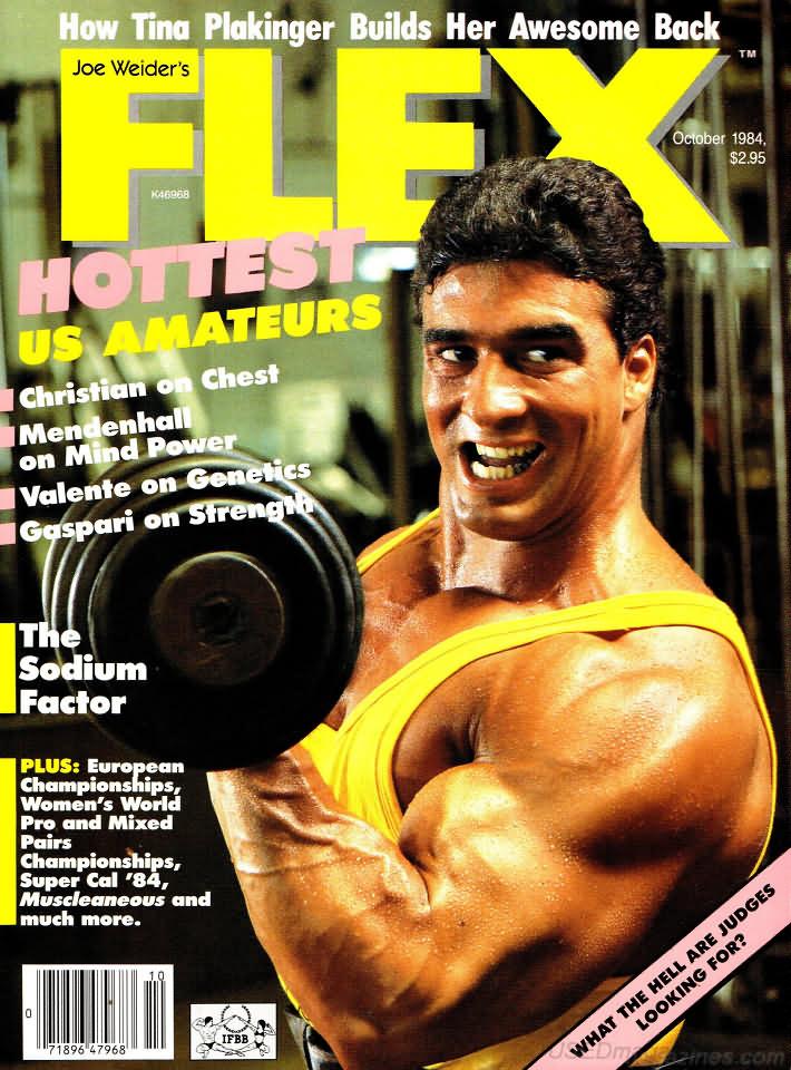 flex october 1984 magazine back issue flex wonderclub. Black Bedroom Furniture Sets. Home Design Ideas